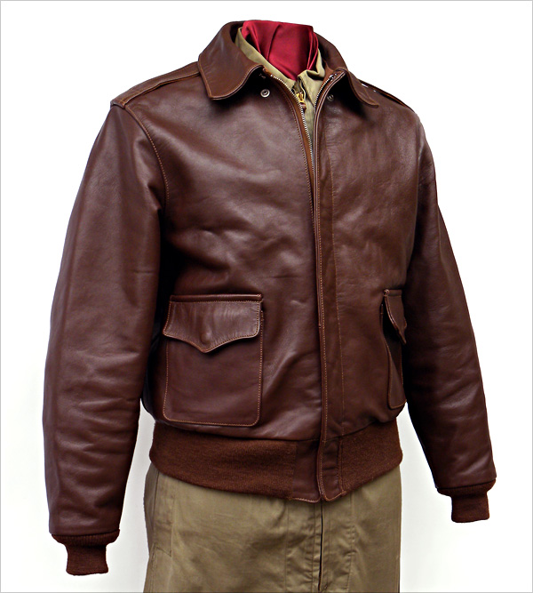 Good Wear Leather's No-Name 42-18246-P Type A-2 Flight Jacket
