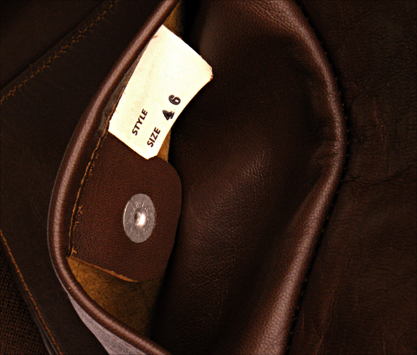 Good Wear Leather's No-Name 42-18246-P Pocket Tag