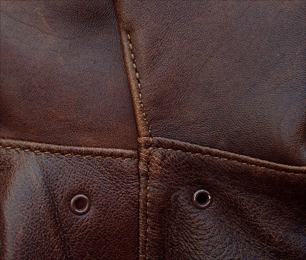 Good Wear Leather's Type A-1 Arm Seams
