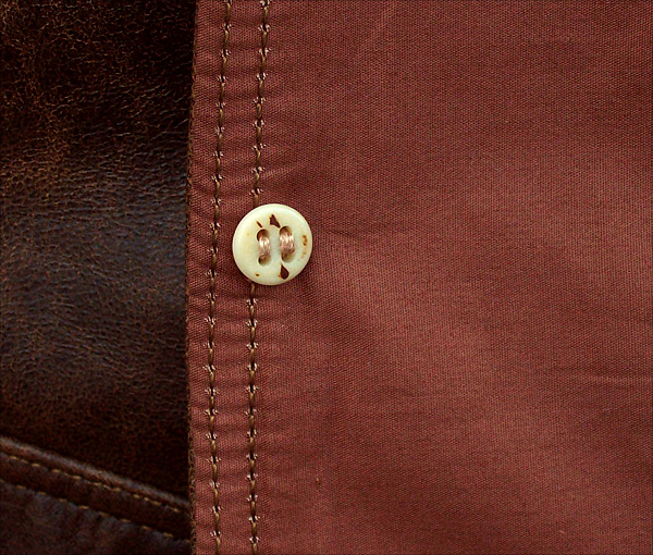 Good Wear Leather's Type A-1 Bone Button