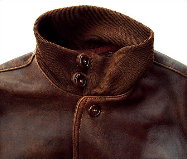 Good Wear Leather's Type A-1 Collar