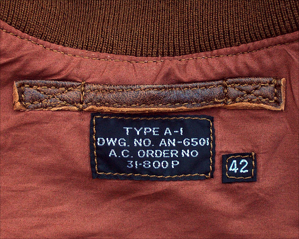 Good Wear Leather's Type A-1 Label