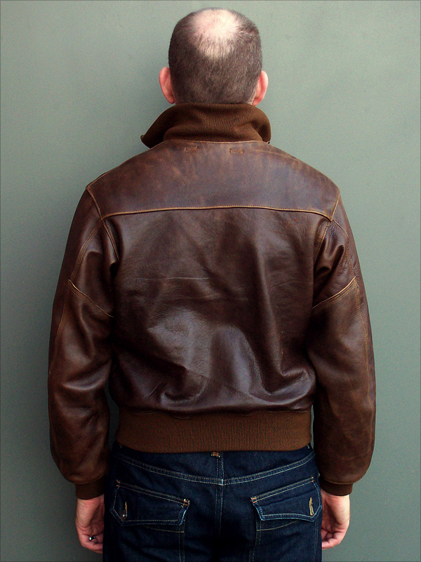 Good Wear Leather's Type A-1 Reverse View
