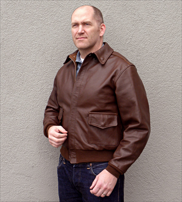 Good Wear Leather 42-18775-P Type A-2 Jacket