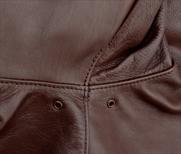 Good Wear Leather 42-18775-P Type A-2 Jacket Seams
