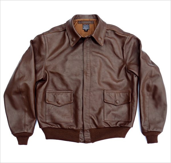 Good Wear Leather 42-18775-P Type A-2 Jacket Flat View