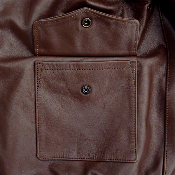 Good Wear Leather 42-18775-P Type A-2 Jacket Open Pocket