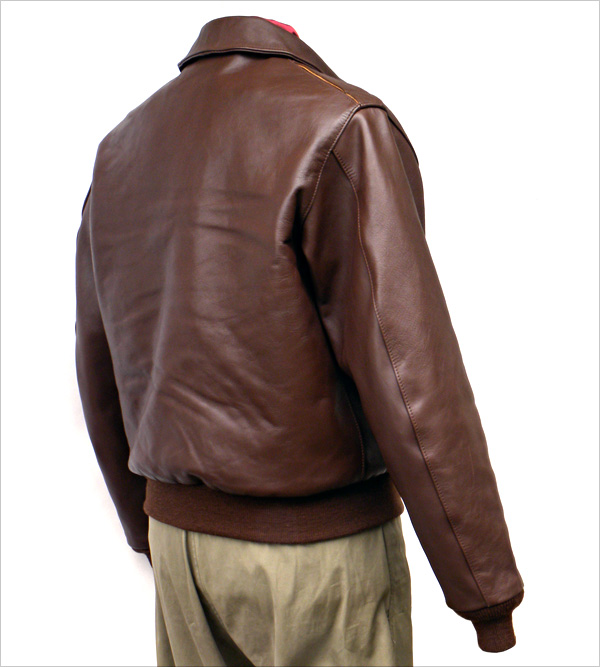 Good Wear Leather 42-18775-P Type A-2 Jacket Reverse View