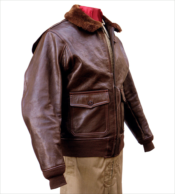 Good Wear Leather Bogen & Tenenbaum AN-6552 Jacket