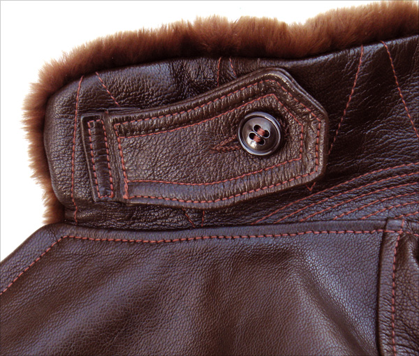 Good Wear Leather Bogen & Tenenbaum AN-6552 Jacket Collar