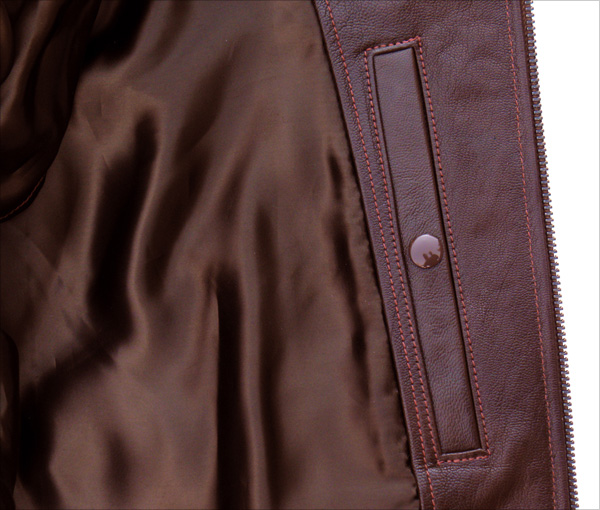 Good Wear Leather Bogen & Tenenbaum AN-6552 Jacket Inner Pocket
