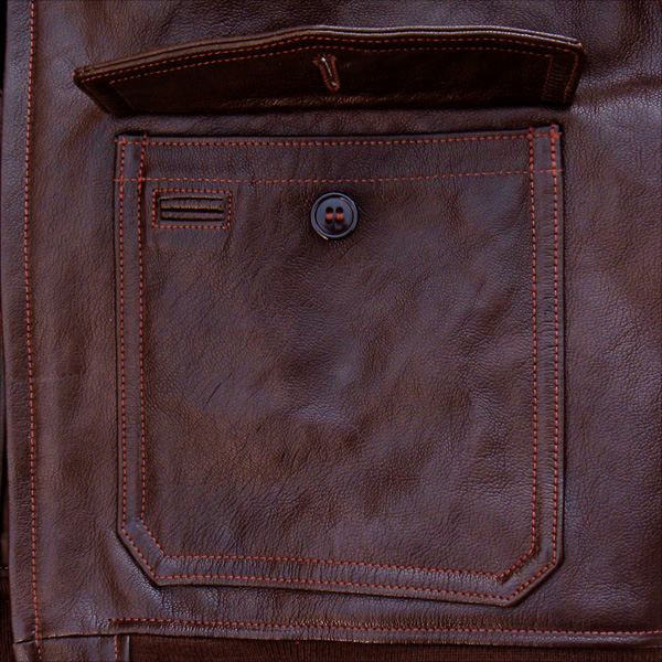 Good Wear Leather Bogen & Tenenbaum AN-6552 Jacket Pocket