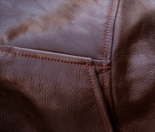 Good Wear Leather Bogen & Tenenbaum AN-6552 Jacket Epaulet