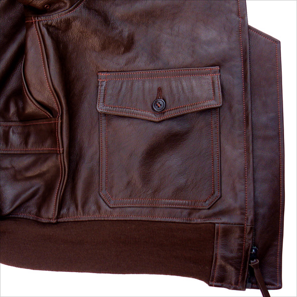 Good Wear Leather Bogen & Tenenbaum AN-6552 Jacket Wind Flap
