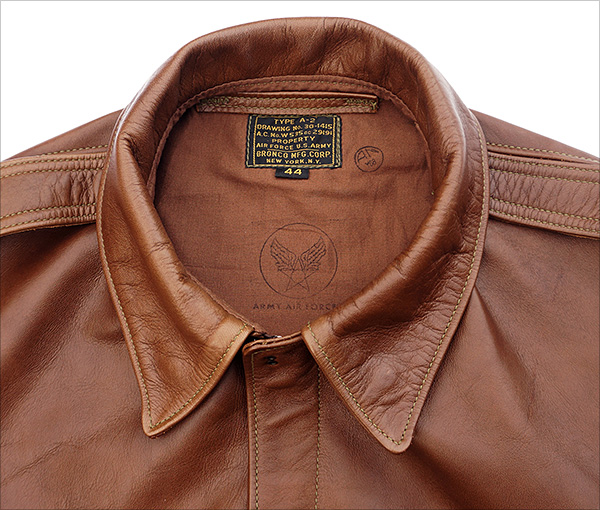 Good Wear Leather's Bronco MFG. Co. Type A-2 Collar