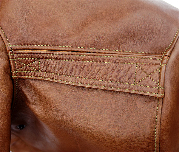 Good Wear Leather's Bronco MFG. Co. Type A-2 Epaulet