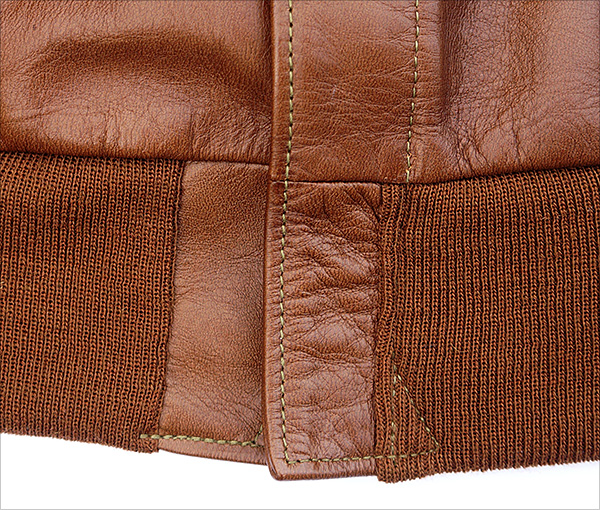 Good Wear Leather's Bronco MFG. Co. Type A-2 Zipper