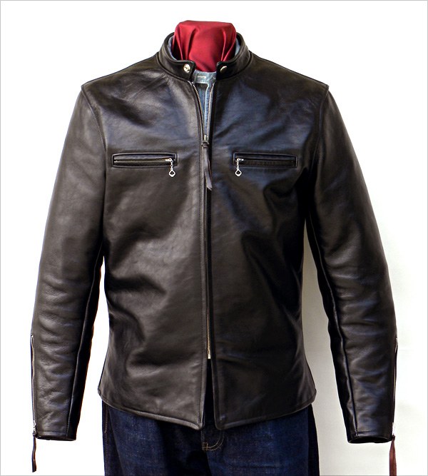 California Sportwear Racer Jacket Front View