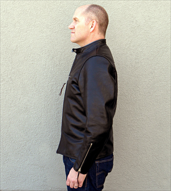 California Sportwear Racer Jacket Side View