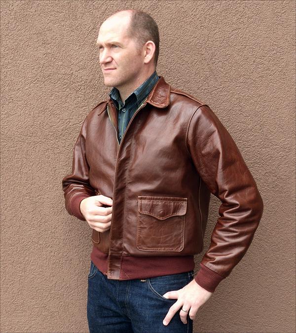Good Wear Leather Coat Company — Good Wear J.A. Dubow Type A-2 ... 3c21fcb13892