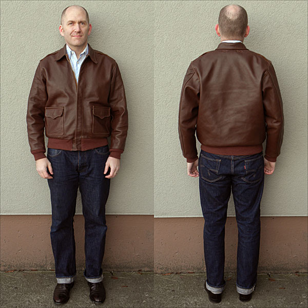 A2 Flight Leather Jacket - Jacket