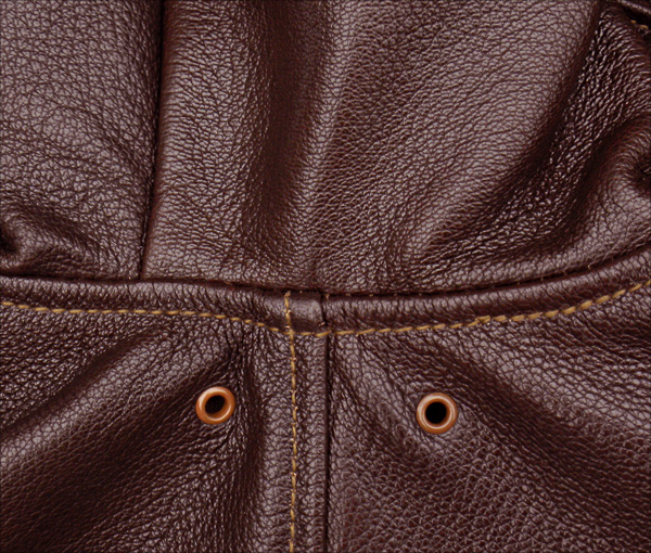 Good Wear Leather I. Chapman & Sons Type A-2 Jacket Seams