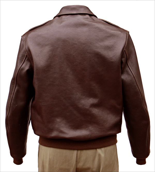 Good Wear Leather I. Chapman & Sons Type A-2 Jacket Reverse View