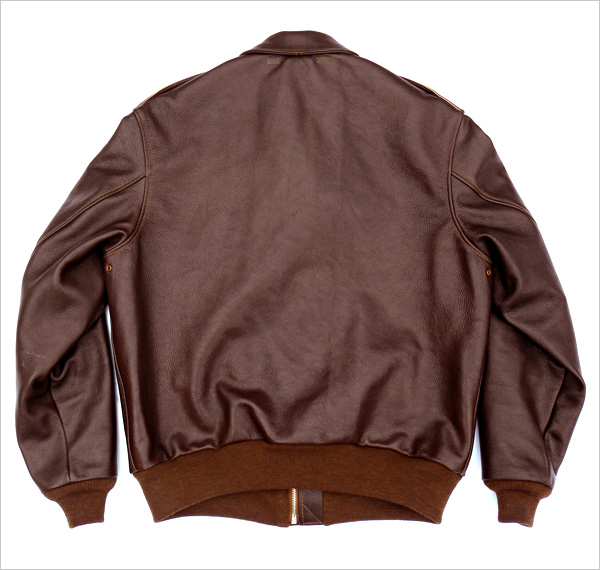 Good Wear Leather I. Chapman & Sons Type A-2 Jacket Flat View