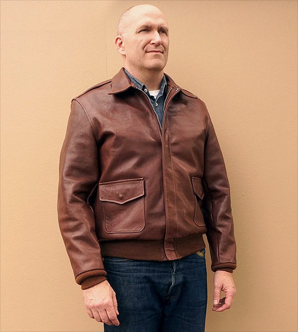 Good Wear Leather I. Chapman & Sons Type A-2 Jacket