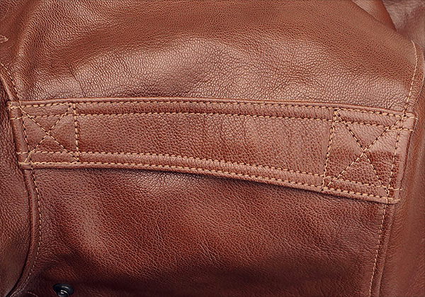 Good Wear Leather I. Chapman & Sons Type A-2 Jacket Epaulet