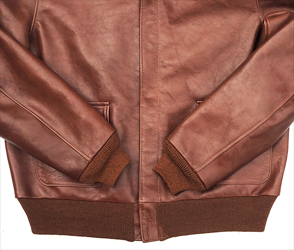 Good Wear Leather I. Chapman & Sons Type A-2 Jacket Knits