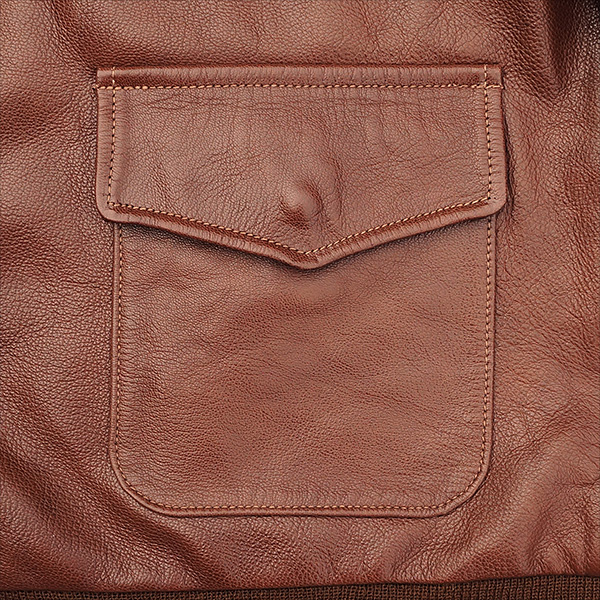 Good Wear Leather I. Chapman & Sons Type A-2 Jacket Pocket