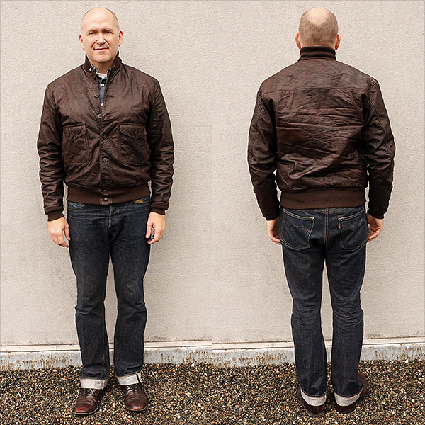 Good Wear Test  Model Navy 37J1 Flight Jacket1