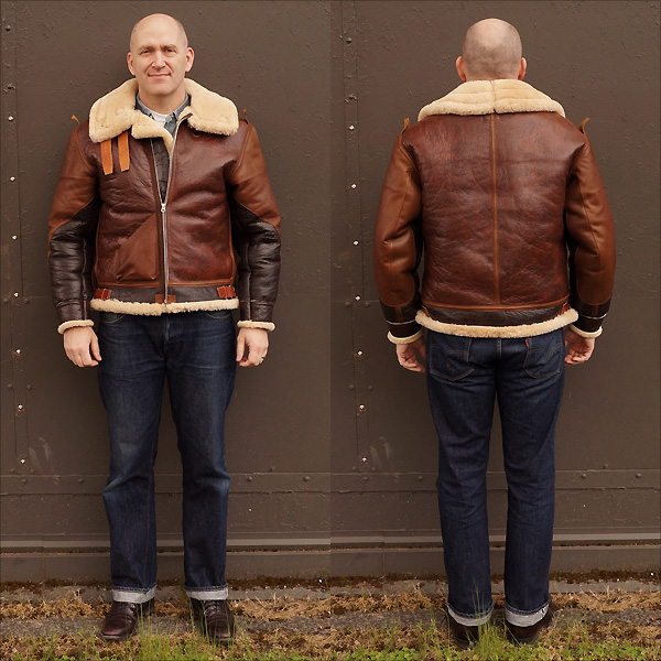 Good Wear Leather Coat Company — Sale No-Name Redskin B-3 Jacket