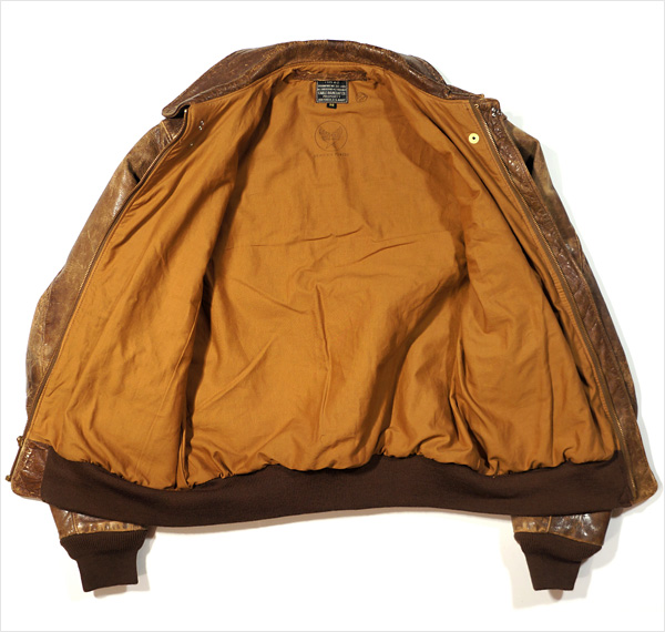 Cable Raincoat Type A-2 Flight Jacket for sale by Good Wear Leather