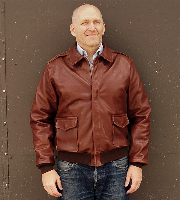 Cable Raincoat 42-10008-P Type A-2 Flight Jacket by Good Wear Leather