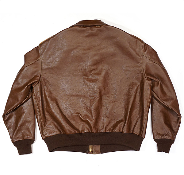 Good Wear Cable Rinacoat Type A-2 Jacket Horween Horsehide