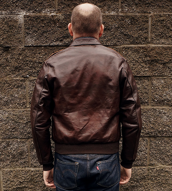 Diamond Clothing Co. Bronco Type A-2 Jacket Horsehide