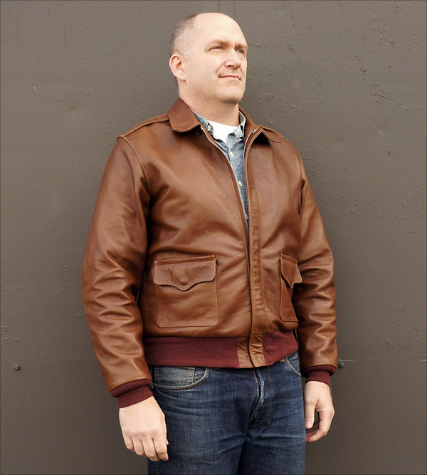 Vintage Leather Jacket >> Good Wear Leather Coat Company — Sale J.A. Dubow W535-AC ...