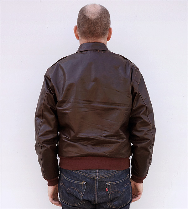 Good Wear J. A. Dubow 1755 Type A-2 Jacket Horween Horsehide