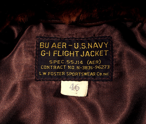 U.S. Navy L.W. Foster 55J14 G-1 Flight Jacket