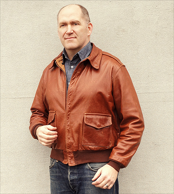 Type A-2 Flight Jacket by Good Wear Leather