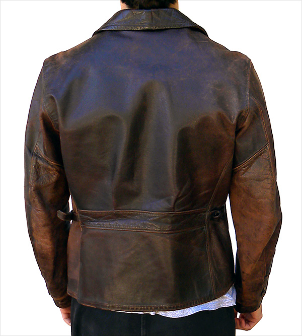 Vintage 1940s Horsehide Leather Jacket