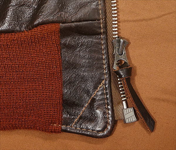 how to change a zipper slider on a leather jacket