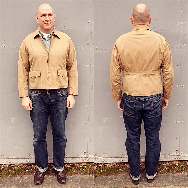 Original WWII U.S. Navy M-421A Flight Jacket by Popular Mfg. Co.