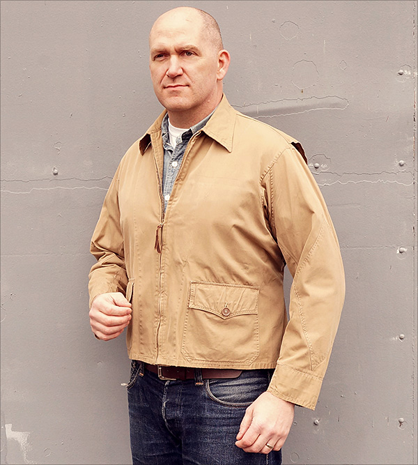 Good Wear Leather Coat Company — Sale Original M-421A Navy Jacket