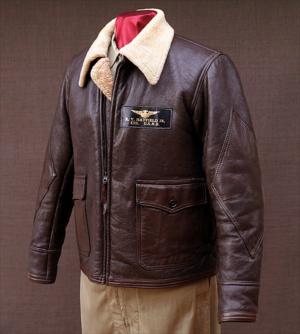 Original Monarch M-444 Naval Flight Jacket from Good Wear Leather