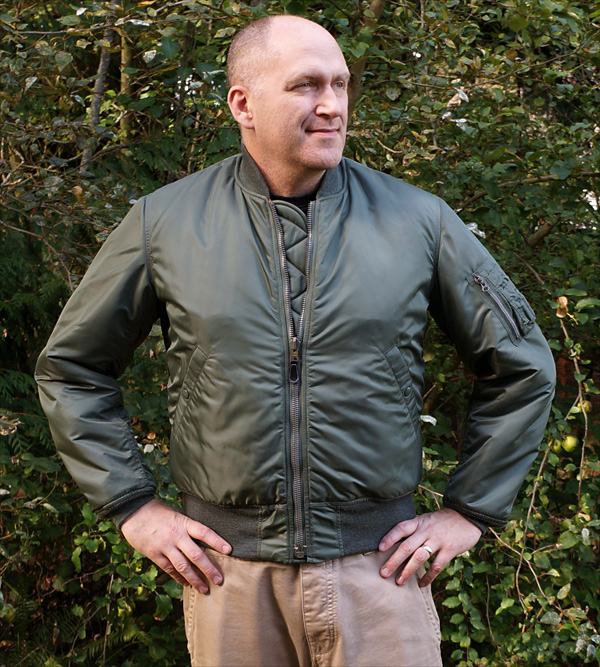The Real McCoy's MA-1 Flight Jacket
