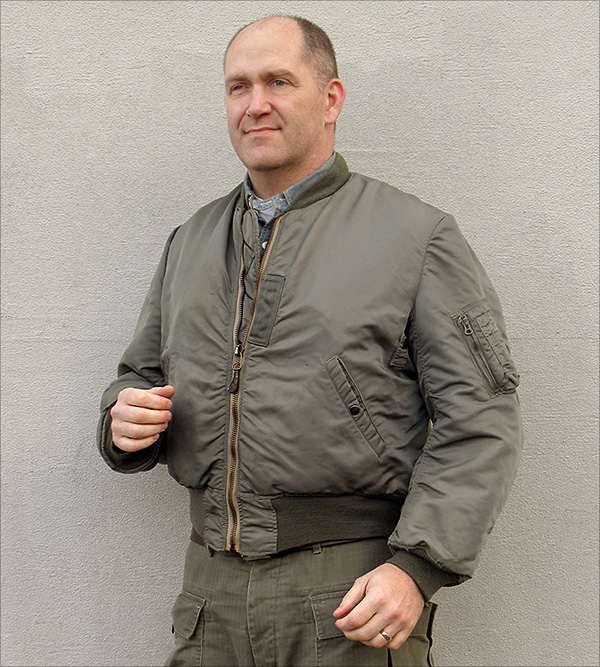 Good Wear Leather Coat Company — Sale MA-1 Flight Jacket