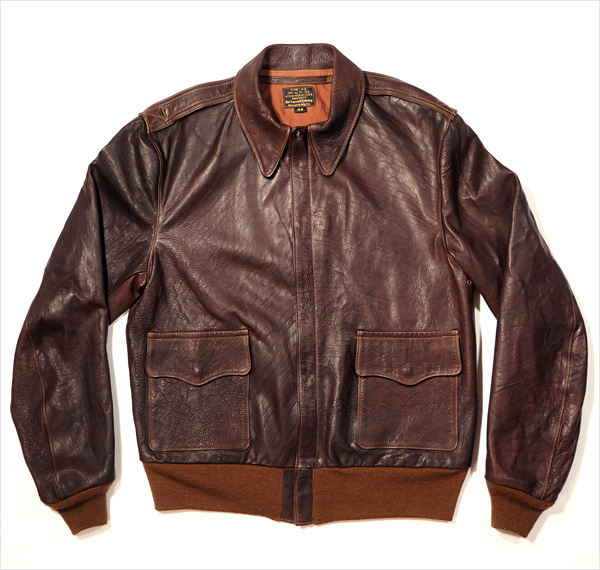 Good Wear Leather Monarch Type A-2 Flight Jacket